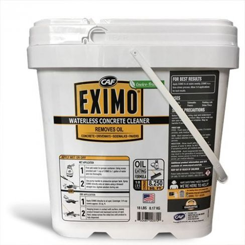 EXIMO® Waterless Concrete Cleaner Charcoal 15 lbs