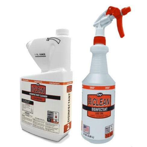 360° Clean® Disinfectant Cleaner Starter Kit