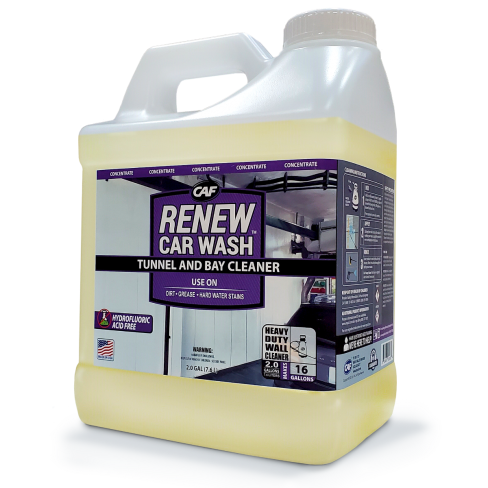 RENEW Car Wash™ Tunnel and Bay Cleaner