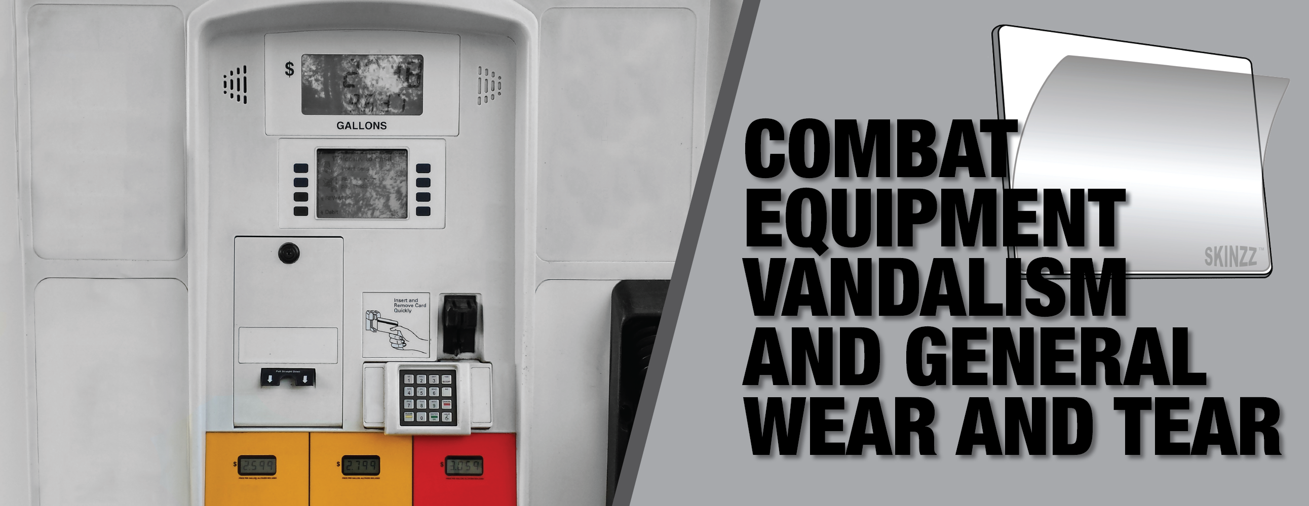 Need Dispenser Shields? Try award winning SKINZZ®