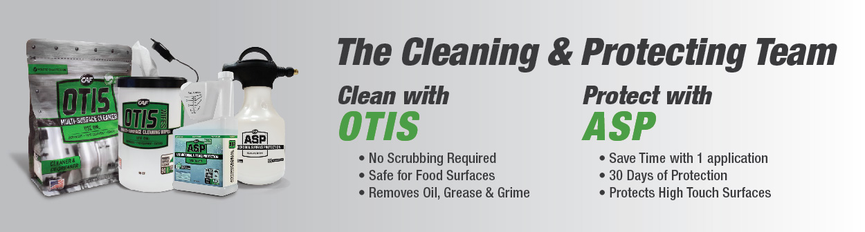Quick Clean and Lasting Protection