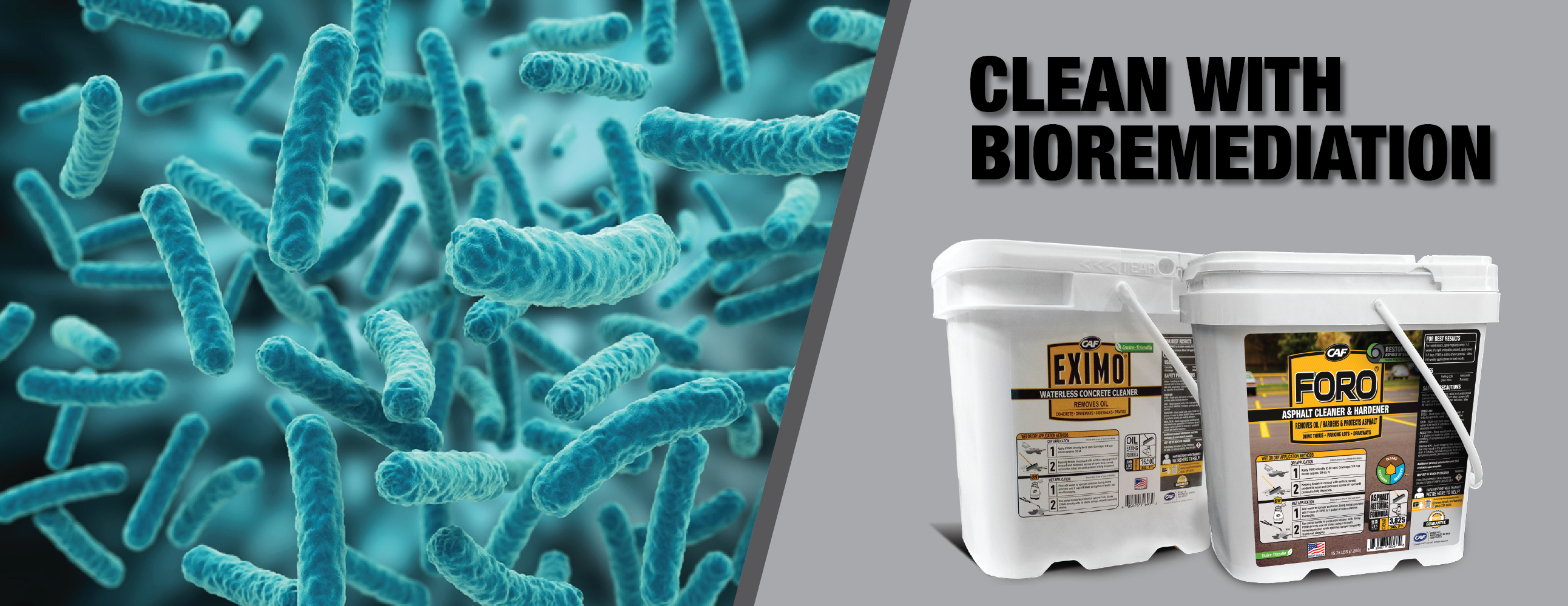 Why CAF Chooses Bioremediation for Industrial Cleaning Products