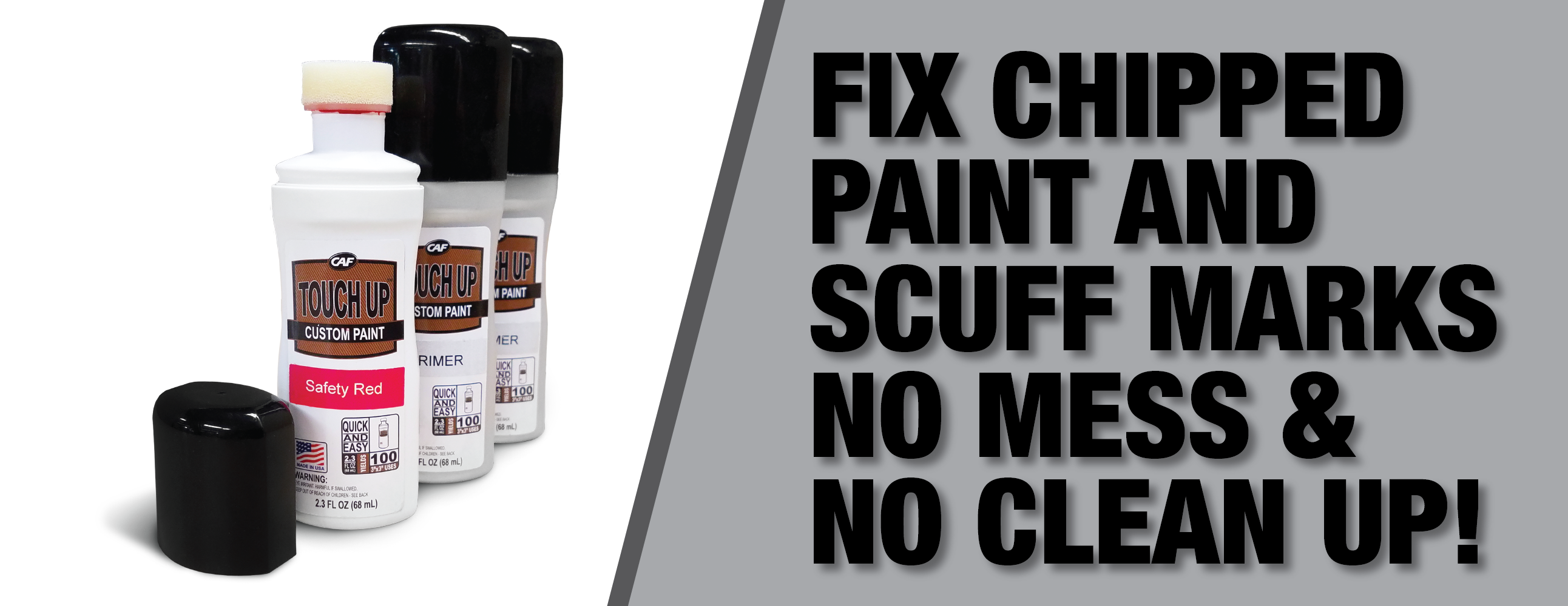 How to Easily Fix Chipped Paint or Markings