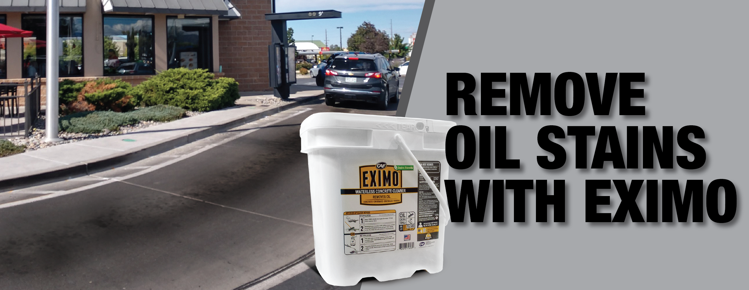 How to Remove Oil Stains from Drive-Thru