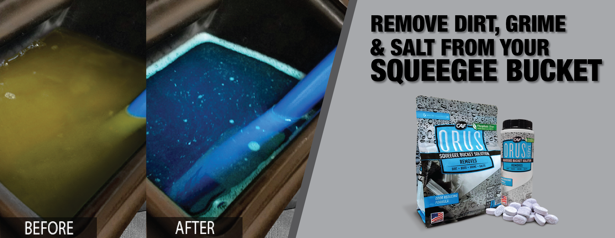 How to Clean Squeegee Buckets