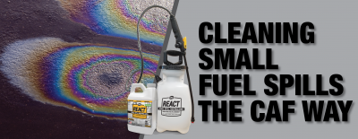 The Best Small Fuel Spill Clean Up Solution
