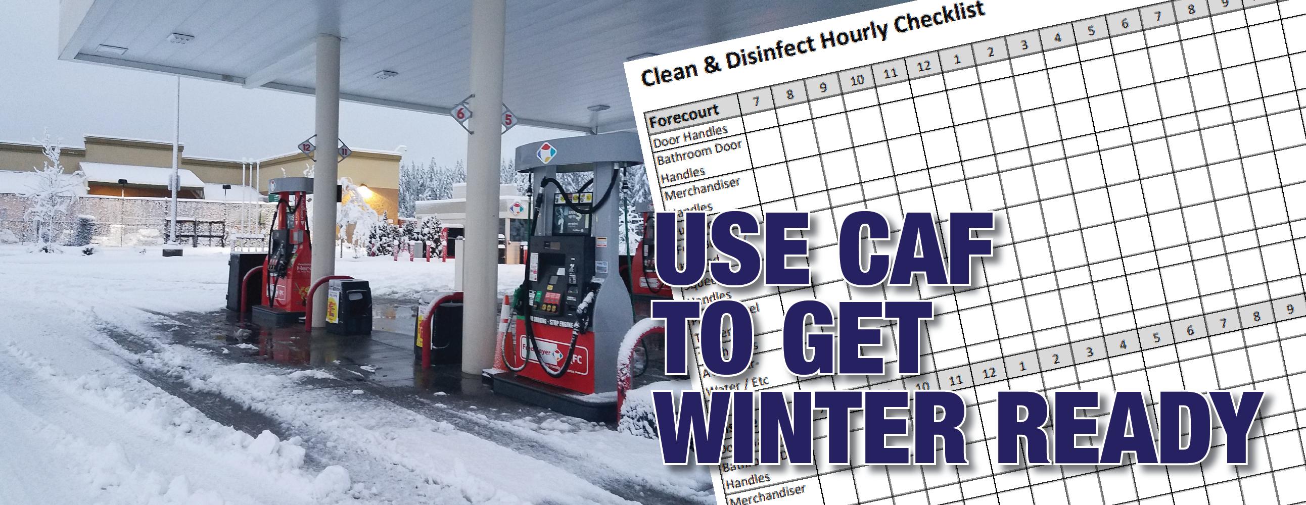 Winter Readiness Checklist