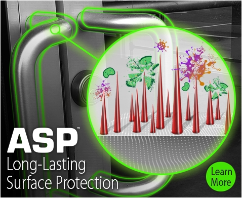 asp antimicrobial surface protection footer image