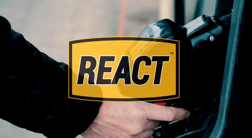 REACT video fuel spill neutralizer