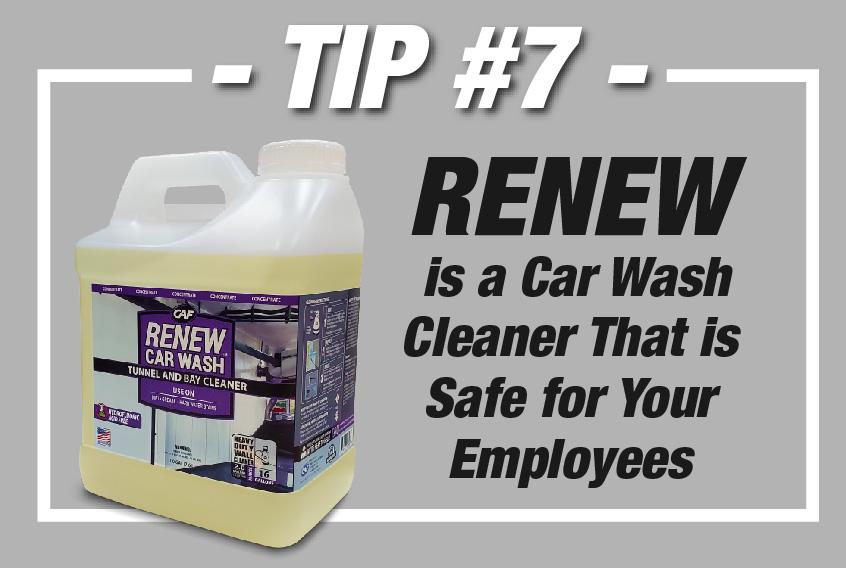 RENEW Cash Wash Cleaner