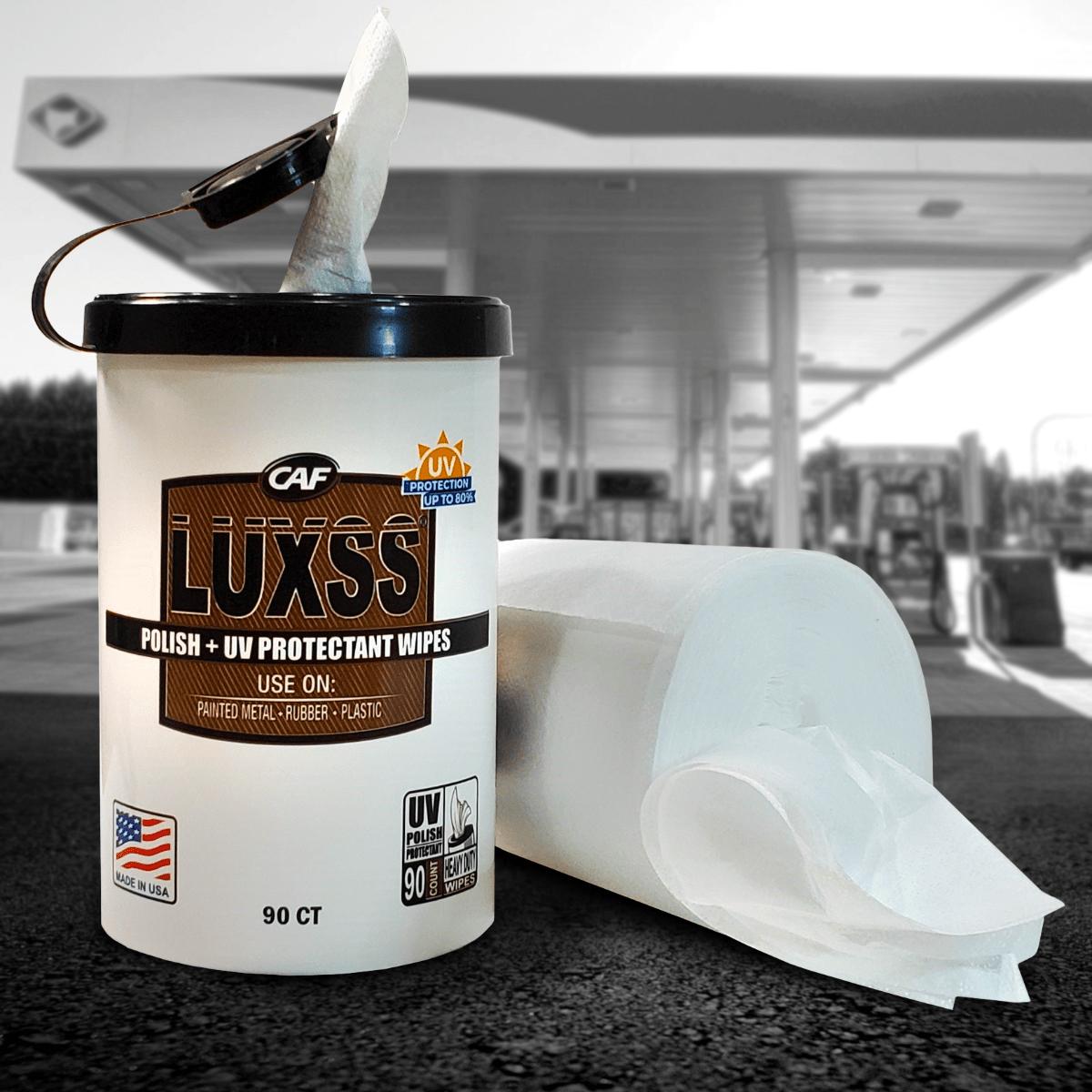 luxss polish uv protectant wipes