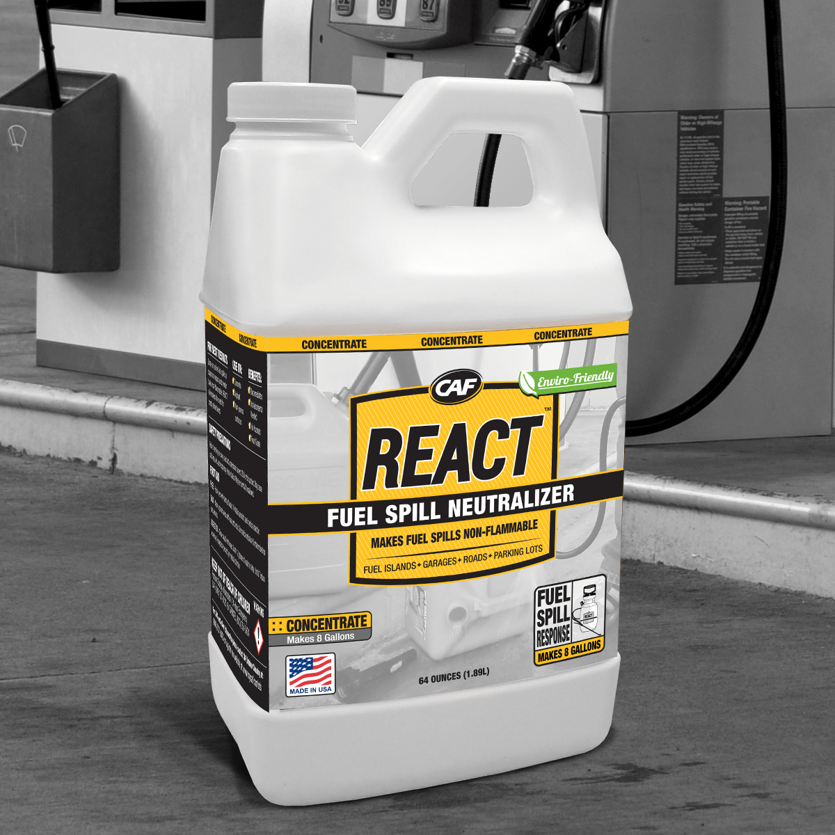 REACT prime Fuel Spill Neutralizer