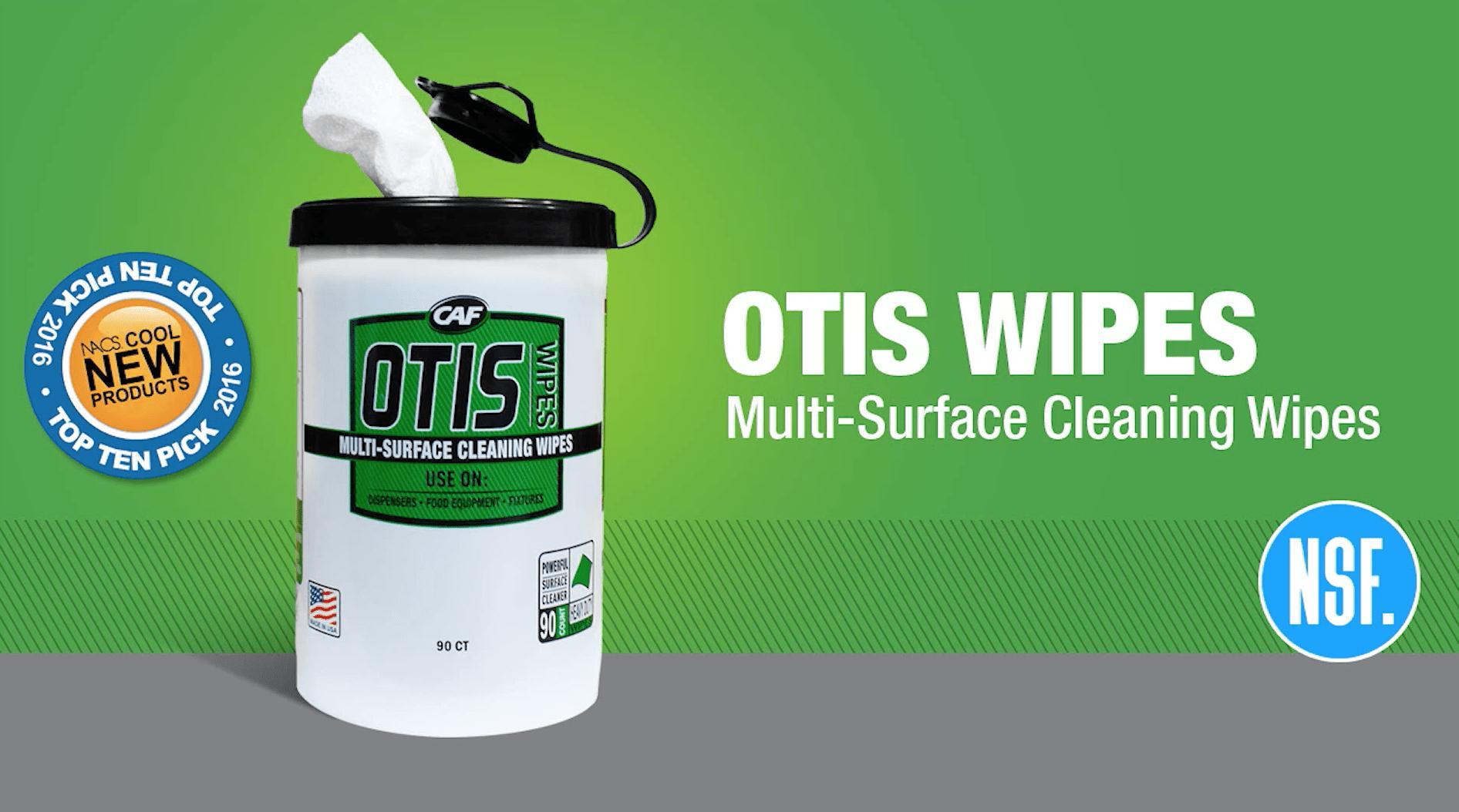 OTIS Wipes video