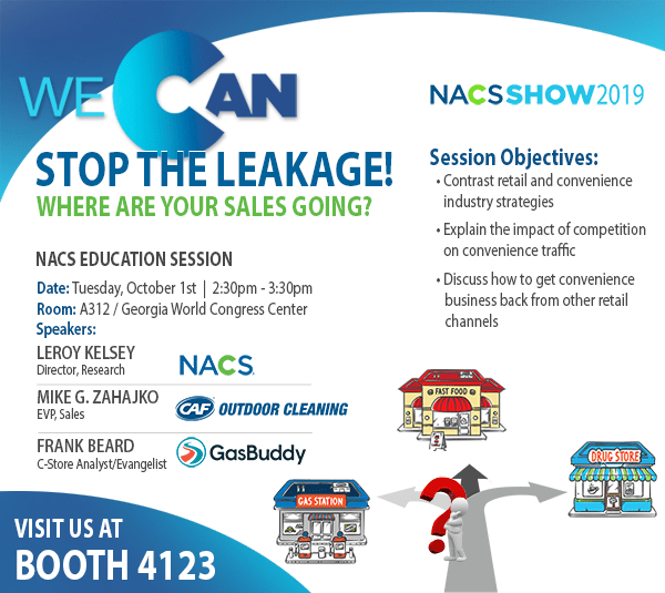 NACS and CAF Education Session 2019 Stop the Leakage