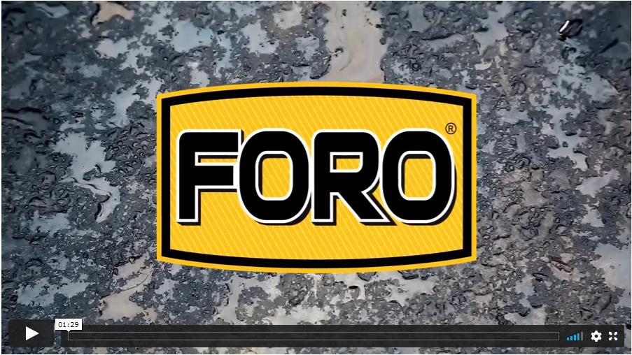 asphalt cleaner FORO video