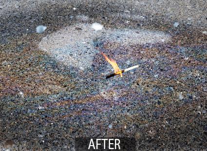 react after fuel spill neutralizer