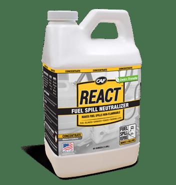 react fuel spill response