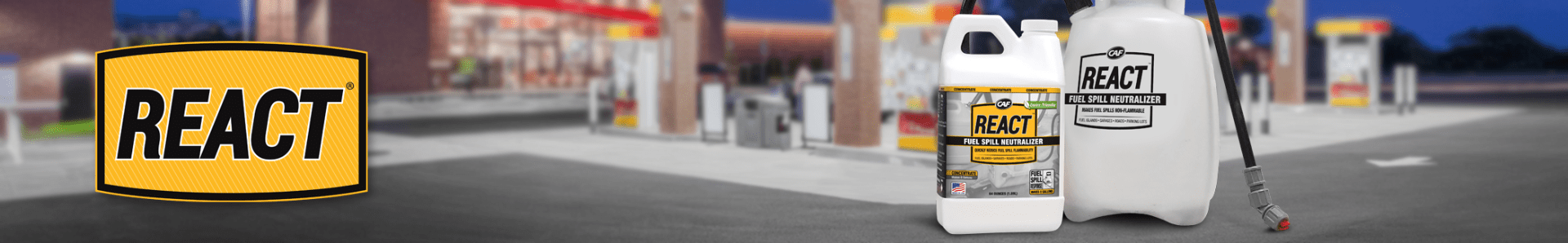react fuel spill neutralizer