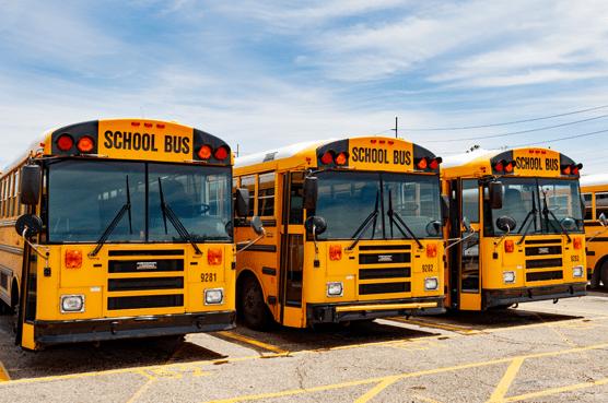 bus and fleet vehicles