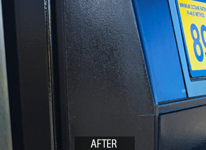 LUXSS after polishing and protecting wipes