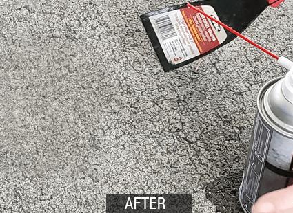 rado gum remover after