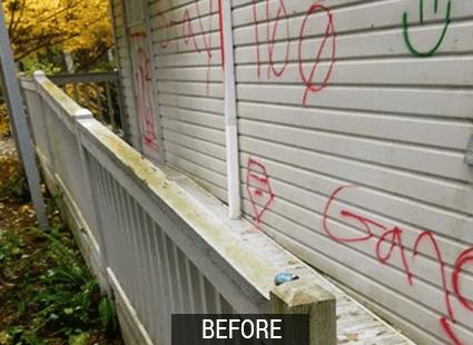 vivx before graffiti and adhesive remover