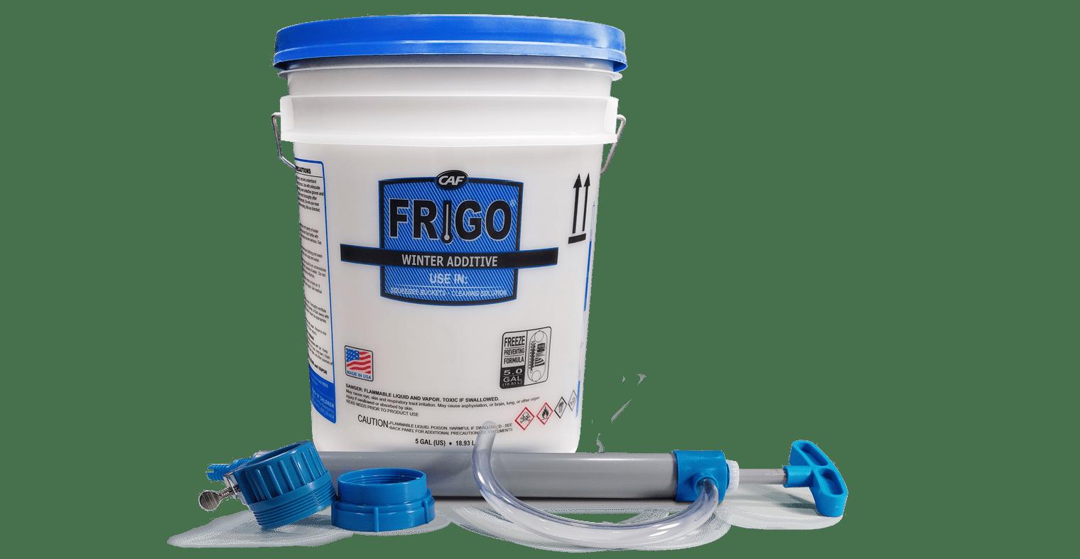 frigo winter additive bucket and pump