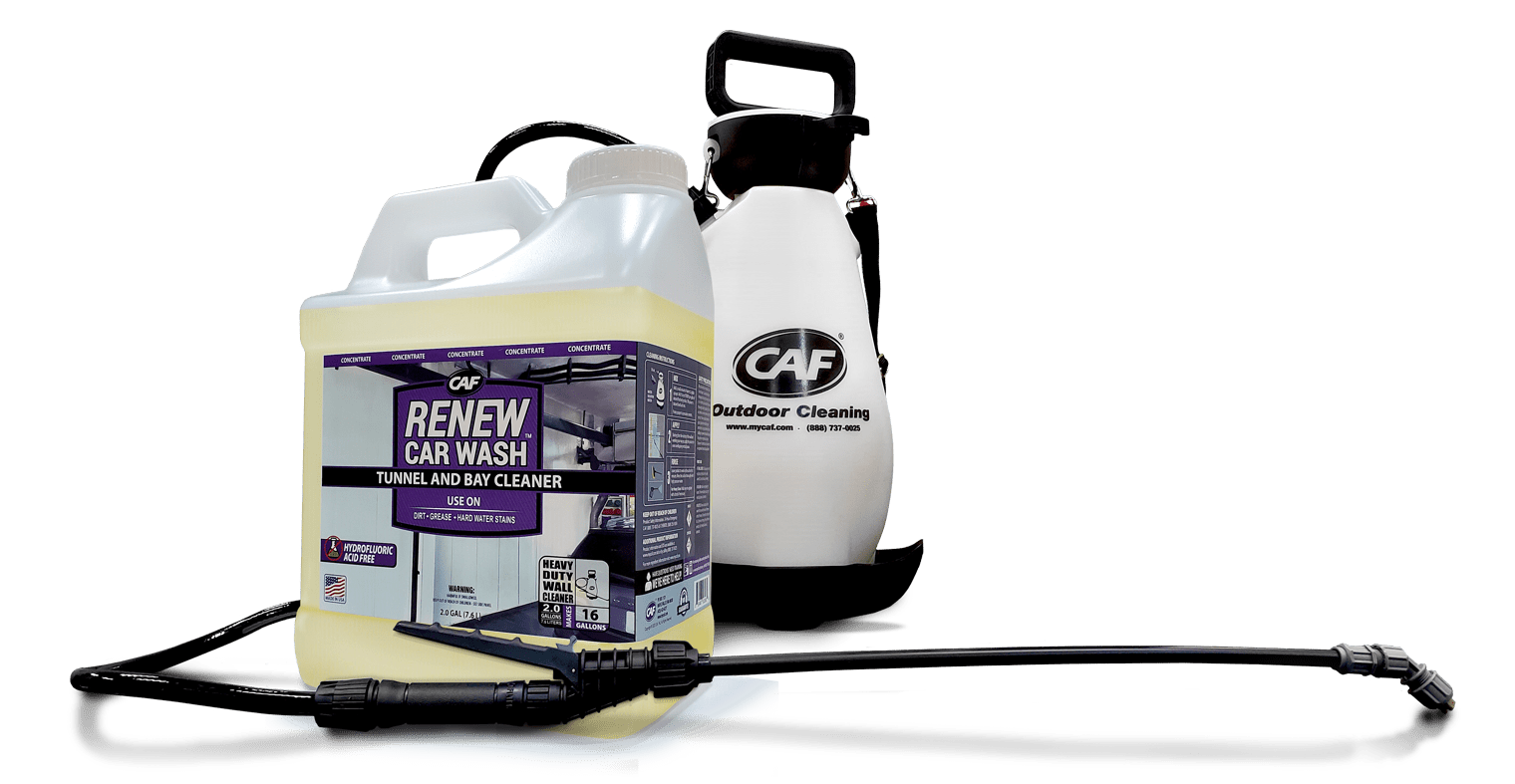 renew car wash cleaner and sprayer applicator