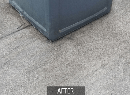 Otis multi-surface cleaner after