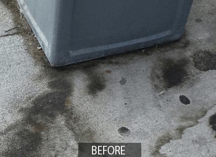 Otis multi-surface cleaner before