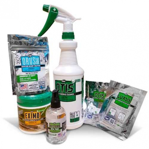 CAF Outdoor Cleaning Premium Sample Kit