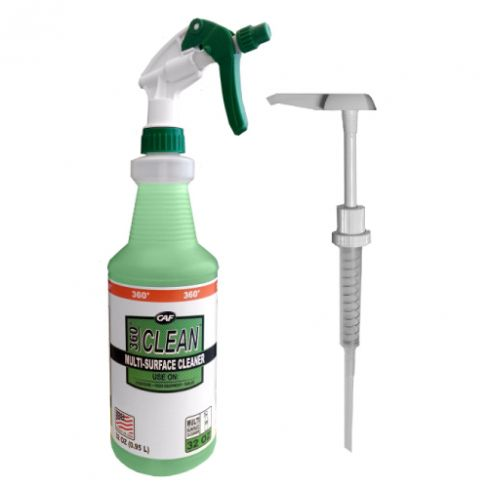 360° Clean™ Multi-Surface Cleaner Hardware Kit